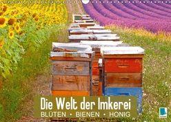 Die Welt der Imkerei: Blüten, Bienen, Honig (Wandkalender 2018 DIN A3 quer) von CALVENDO,  k.A.