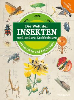 Mitmachen und Entdecken: Insekten und andere Krabbeltiere von Egan,  Vicky, Kuhlmeier,  Antje