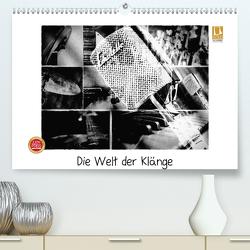 Die Welt der Klänge (Premium, hochwertiger DIN A2 Wandkalender 2020, Kunstdruck in Hochglanz) von aplowski,  andrea
