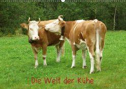 Die Welt der Kühe (Wandkalender 2019 DIN A2 quer) von kattobello