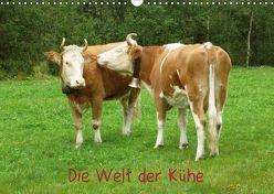 Die Welt der Kühe (Wandkalender 2019 DIN A3 quer) von kattobello
