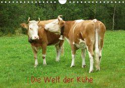 Die Welt der Kühe (Wandkalender 2019 DIN A4 quer) von kattobello