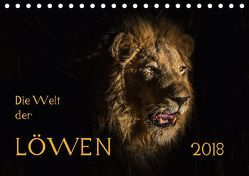 Die Welt der Löwen (Tischkalender 2018 DIN A5 quer) von Bethke,  Barbara