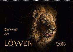 Die Welt der Löwen (Wandkalender 2018 DIN A2 quer) von Bethke,  Barbara