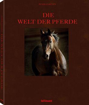 Die Welt der Pferde, Deutsche Ausgabe von Clotten,  Peter
