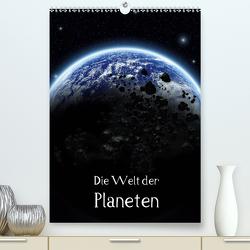 Die Welt der Planeten (Premium, hochwertiger DIN A2 Wandkalender 2021, Kunstdruck in Hochglanz) von Gatterwe,  Simone