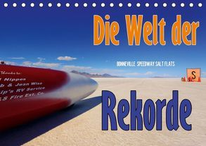 Die Welt der Rekorde – Bonneville Speedway (Tischkalender 2019 DIN A5 quer) von Ehrentraut,  Dirk
