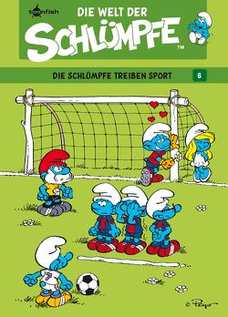 Die Welt der Schlümpfe Bd. 6 – Die Schlümpfe treiben Sport von Díaz Vizoso,  Miguel, Peyo