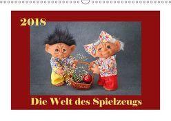 Die Welt des Spielzeugs (Wandkalender 2018 DIN A3 quer) von Sodzawiczny,  Svetlana
