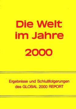 Die Welt im Jahre 2000 von Haller,  Wolfgang von