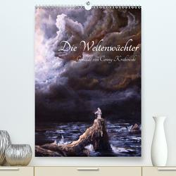 Die Weltenwächter – Gemälde von Conny Krakowski (Premium, hochwertiger DIN A2 Wandkalender 2021, Kunstdruck in Hochglanz) von Krakowski,  Conny