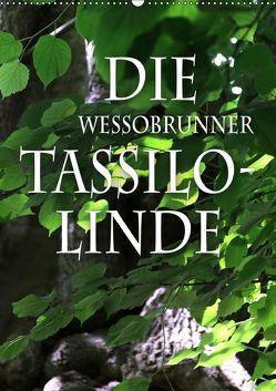 Die Wessobrunner Tassilolinde (Wandkalender 2019 DIN A2 hoch) von N.,  N.