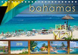 Die Westindischen Inseln – Bahamas (Tischkalender 2019 DIN A5 quer) von Roder,  Peter