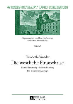 Die westliche Finanzkrise von Simader,  Elisabeth