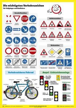 Die wichtigsten Verkehrszeichen von Stiefel,  Heinrich