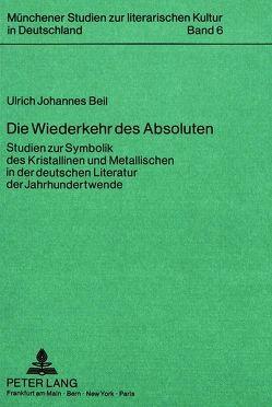 Die Wiederkehr des Absoluten von Beil,  Ulrich Johannes