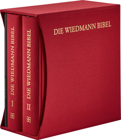 Die Wiedmann Bibel – ART-Edition (rot) von Luther,  Martin, Rieker,  Manfred, Wiedmann,  Martin, Wiedmann,  Willy