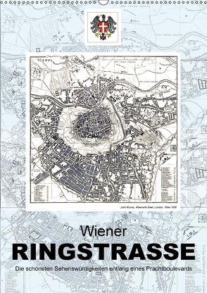 Die Wiener RingstrasseAT-Version (Wandkalender 2018 DIN A2 hoch) von Bartek,  Alexander