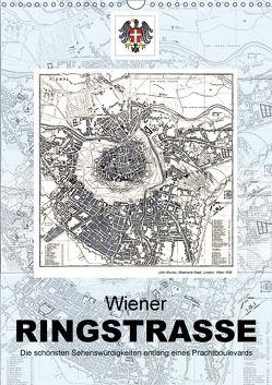 Die Wiener RingstrasseAT-Version (Wandkalender 2018 DIN A3 hoch) von Bartek,  Alexander