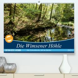 Die Wimsener Höhle (Premium, hochwertiger DIN A2 Wandkalender 2021, Kunstdruck in Hochglanz) von Gärtner- franky242 photography,  Frank