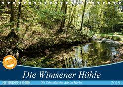 Die Wimsener Höhle (Tischkalender 2019 DIN A5 quer) von Gärtner- franky242 photography,  Frank