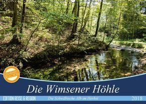 Die Wimsener Höhle (Wandkalender 2018 DIN A2 quer) von Gärtner- franky242 photography,  Frank