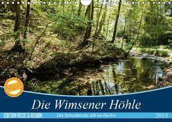 Die Wimsener Höhle (Wandkalender 2019 DIN A4 quer) von Gärtner- franky242 photography,  Frank