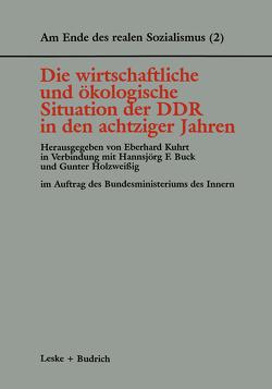Die wirtschaftliche und ökologische Situation der DDR in den 80er Jahren von Buck,  Hannsjörg F., Holzweissig,  Gunter, Kuhrt,  Eberhard
