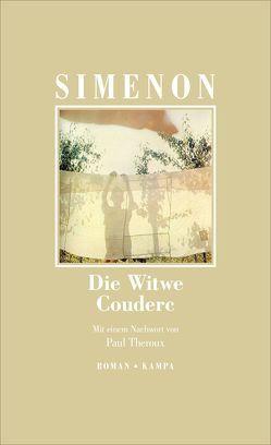 Die Witwe Couderc von Grössel,  Hans, Simenon,  Georges, Theroux,  Paul