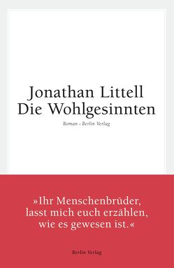 Die Wohlgesinnten von Kober,  Hainer, Littell,  Jonathan