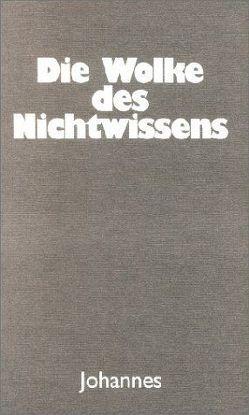 Die Wolke des Nichtwissens von Riehle,  Wolfgang