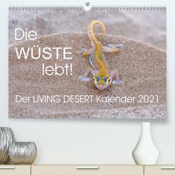 Die Wüste lebt! – Der LIVING DESERT Kalender 2021 (Premium, hochwertiger DIN A2 Wandkalender 2021, Kunstdruck in Hochglanz) von van der Wiel www.kalender-atelier.de,  Irma