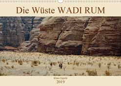 Die Wüste Wadi Rum (Wandkalender 2019 DIN A3 quer) von Eppele,  Klaus