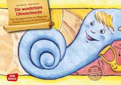 Die wunderbare Ohrenschnecke. Kamishibai Bildkartenset. von Mausini,  Carlo, Schulze,  Katja