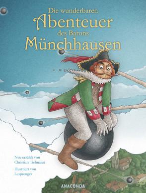 Die wunderbaren Abenteuer des Barons Münchhausen von Tielmann,  Christian