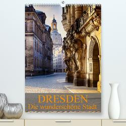 Die wunderschöne Stadt Dresden (Premium, hochwertiger DIN A2 Wandkalender 2021, Kunstdruck in Hochglanz) von Meutzner,  Dirk