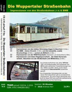 Die Wuppertaler Straßenbahn 1 von Herr,  Andreas