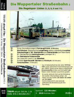 Die Wuppertaler Straßenbahn DVD 2 von Herr,  Andreas