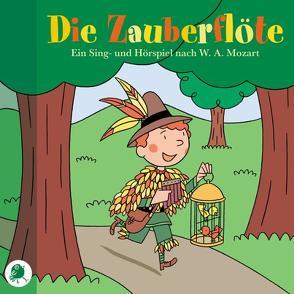 Die Zauberflöte von Mozart,  Wolfgang A, Piper-Albach,  Monika, Strack,  Günther