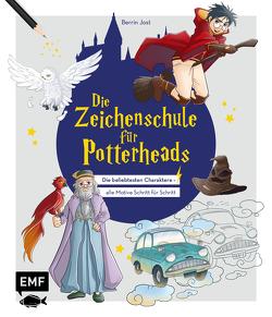 Die Zeichenschule für Potterheads von Jost,  Berrin