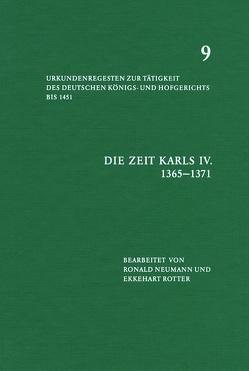 Die Zeit Karls IV (1365-1371) von Neumann,  onald, otter,  Ekkehart