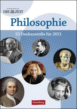 DIE ZEIT Philosopie Kalender 2021 von Harenberg, Hattstein,  Markus