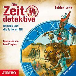 Die Zeitdetektive. Ramses und die Falle am Nil von Lenk,  Fabian, Stephan,  Bernd