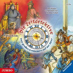 Die Zeitdetektive Sammelbox von Lenk,  Fabian, Schad,  Stephan