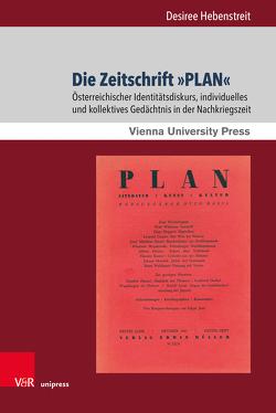 Die Zeitschrift »PLAN« von Hebenstreit,  Desiree