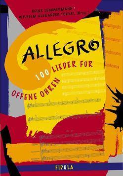 Die Zugabe / Allegro – 100 Lieder für offene Ohren. Liederbuch ab Sekundarstufe I von Lemmermann,  Heinz, Torkel,  Wilhelm A