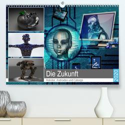 Die Zukunft. Roboter, Androiden und Cyborgs (Premium, hochwertiger DIN A2 Wandkalender 2020, Kunstdruck in Hochglanz) von Hurley,  Rose