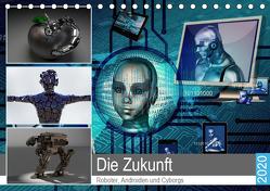 Die Zukunft. Roboter, Androiden und Cyborgs (Tischkalender 2020 DIN A5 quer) von Hurley,  Rose