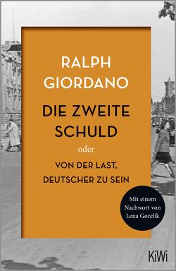 Die zweite Schuld von Giordano,  Ralph