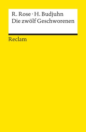 Die zwölf Geschworenen von Budjuhn,  Horst, Rose,  Reginald